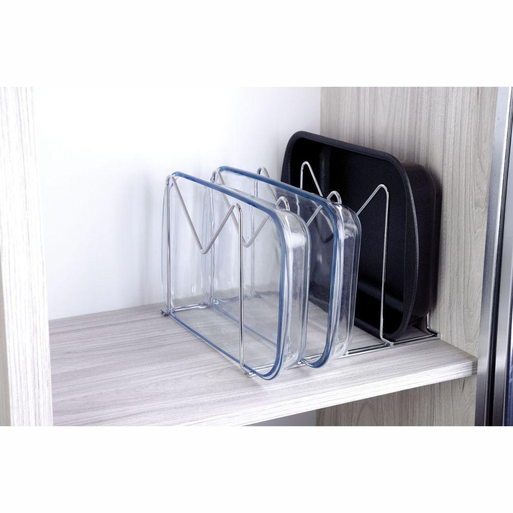 Organizador de arm rio para formas travessas e frigideiras - Organizador armario ...