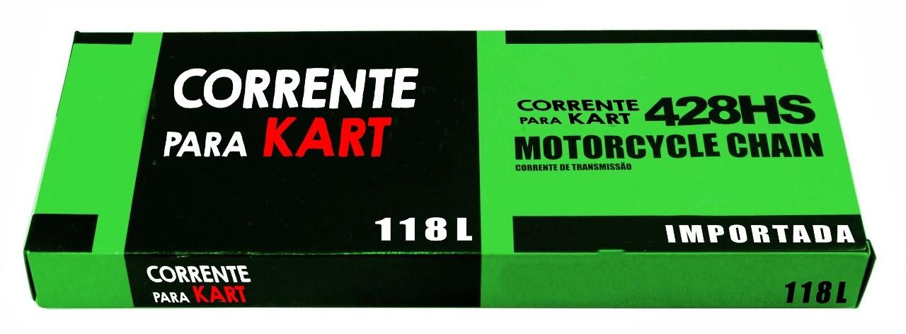 CORRENTE  428H  - Import. - 838  - Mega Kart