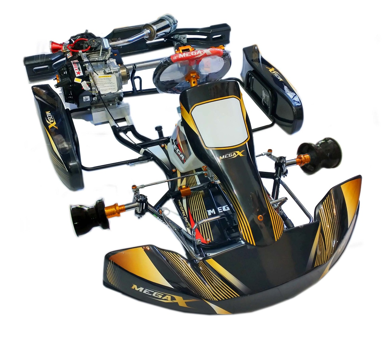 KART 2.0 COM MOTOR FORTEX G6 - 1174  - Mega Kart
