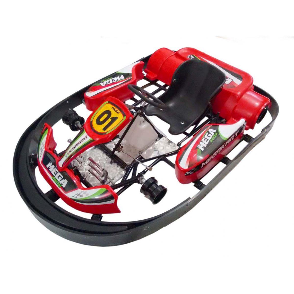Kart Indoor com Amortecedo de Choque - 324   - Mega Kart