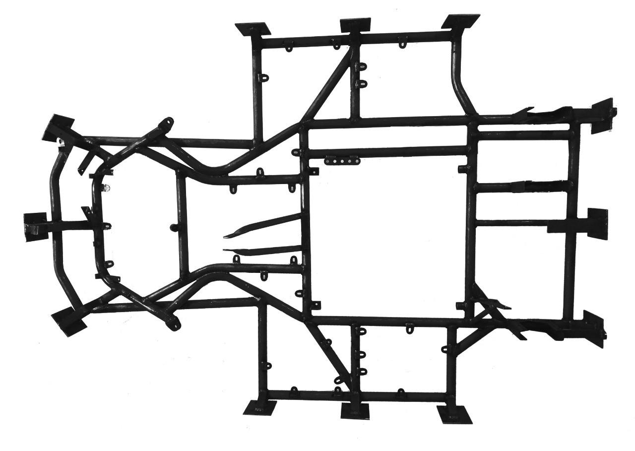 QUADRO INDOOR S/ MANGAS - 762  - Mega Kart