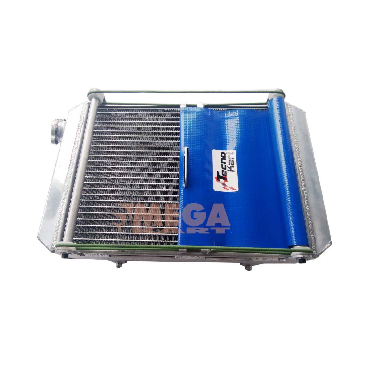 Radiador TK Com Cortina  - Mega Kart