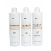 Kit Brae Bond Angel 2 passos, protetor, reconstrutor 500 ML