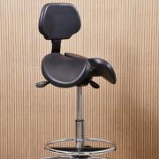 Cadeira Mocho Saddle Chair modelo Supporto preto Dentistas