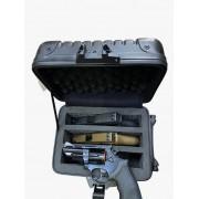 Case para 3 armas pistolas personalizada revolver arma curta