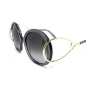 Oculos de sol Chloe Jackson lente cinza degrade UVA e UVB