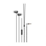 Fone de ouvido Xtrax com microfone cinza pronta entrega NF