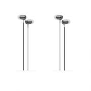 Kit 2 Fone de ouvido Xtrax com microfone cinza entrega rapid