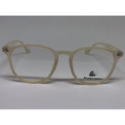 Oculos de grau cristal redondo plaqueta estilo creme