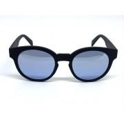 Oculos de sol espelhado preto e azul, majestic, pronta entre