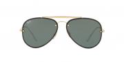 Oculos de sol Ray Ban Blaze Aviator RB 3584N 905071 58