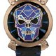 Relogio Gaga Milano BIONIC SKULL 48MM IP ROSE GOLD