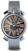 Relógio Gaga Milano Slim 46MM Steel