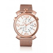 Relogio Gaga Milano THIN CHRONO 46MM GOLD PLATED