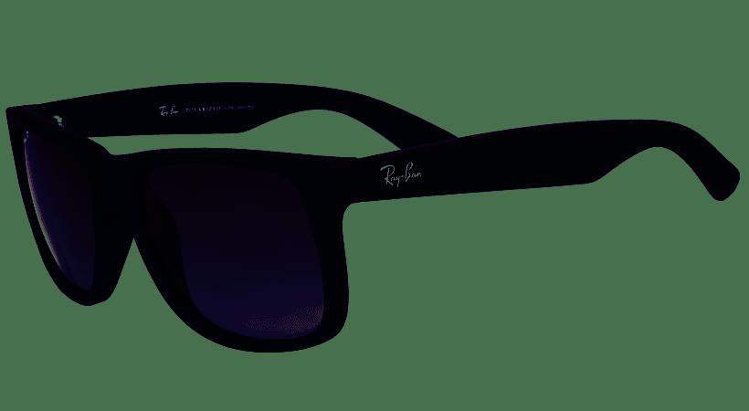 fbf4f3e4c3 ... Oculos de sol Ray Ban Justin RB 4165L 622/T3 57 Polarizado - Majestic  Oculos ...