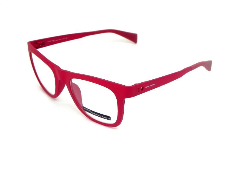 Oculos de grau italiano Italia Independent vermelho intenso