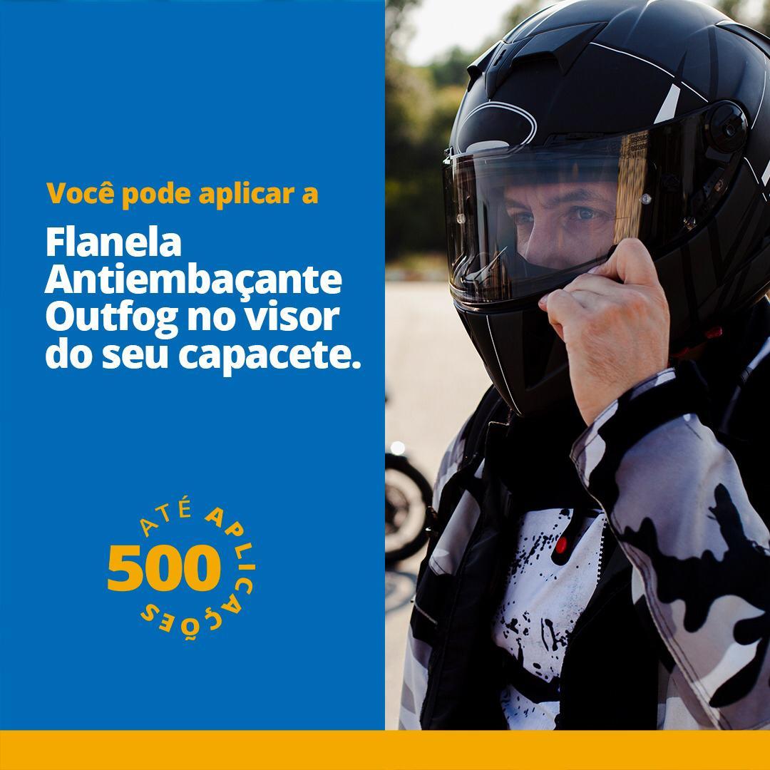Kit 10 Flanelas Antiembacante Seca Para Oculos 300Aplicações