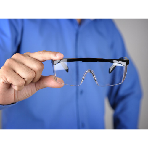 Kit 12 Óculos de Proteção Jaguar incolor nota fiscal CA