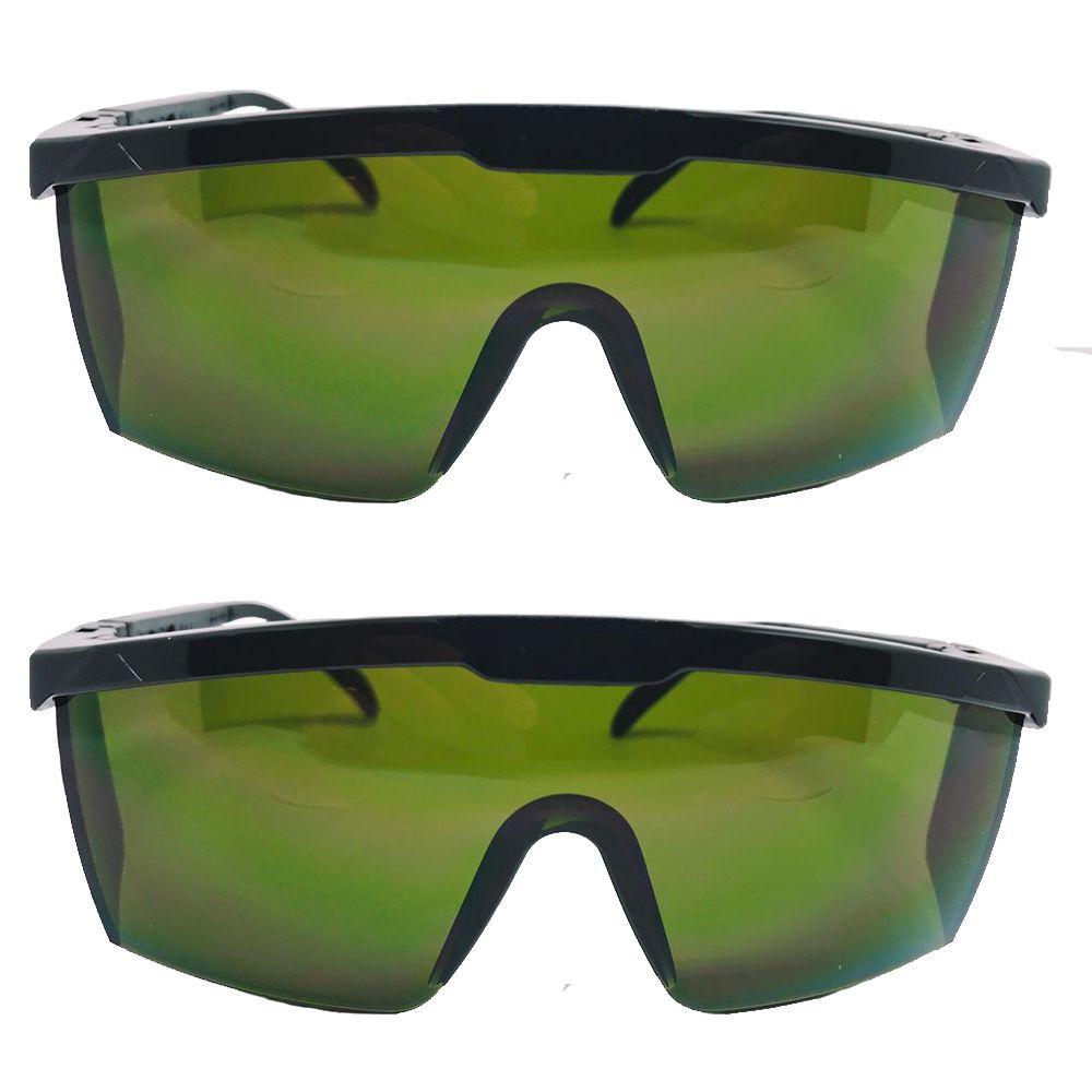 Kit 2 Óculos de Proteção contra Raio Laser e Luz Pulsada IPL T3