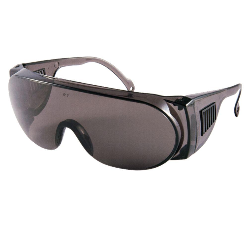 Kit 48 Oculos de Proteção Panda cinza promocao atacado CA NF