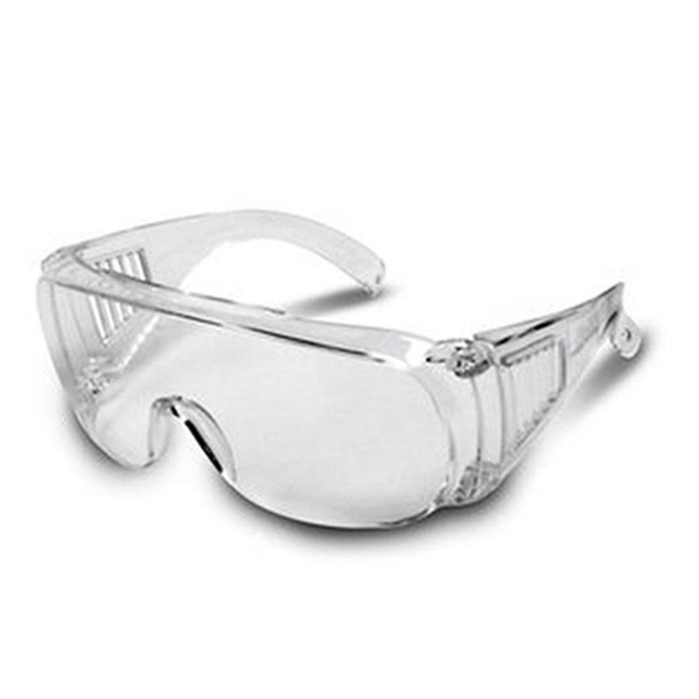 Kit 48 Oculos de Proteção individual Panda incolor Kalipso