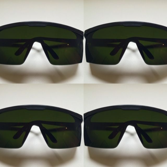 Kit com 4 Oculos de proteçao contra raio laser e luz pulsada IPL - Majestic  Oculos 522be97e05
