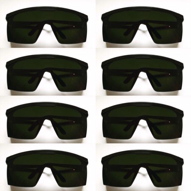 282513196e4cc Kit com 8 Oculos de proteçao contra raio laser e luz pulsada IPL - Majestic  Oculos