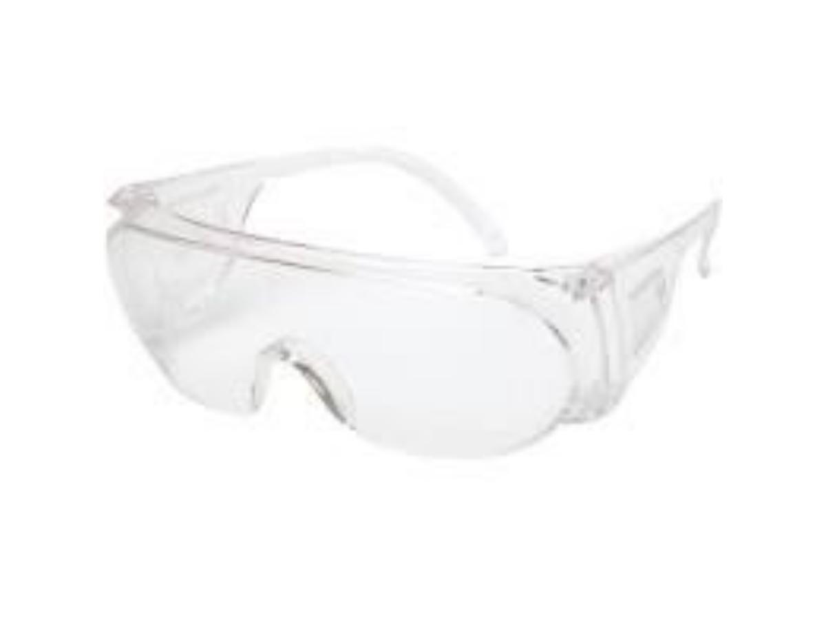 Óculos De Proteção Panda incolor de Sobrepor Entrega já NF