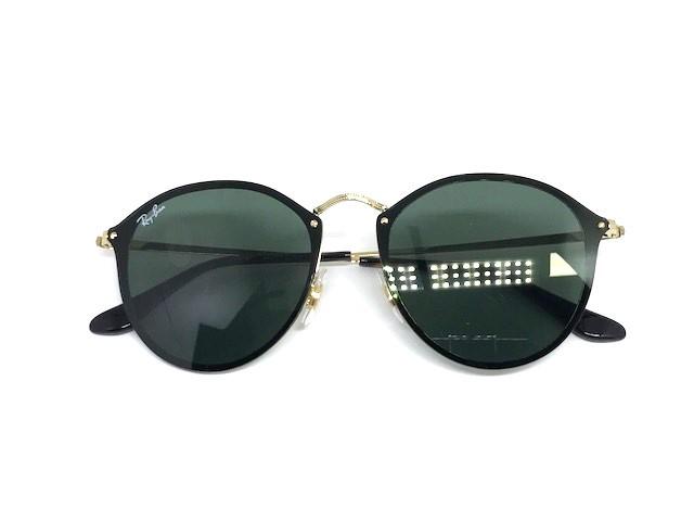 ... Oculos de sol Blaze Round Ray Ban RB 3574N 001 71 59 - Majestic Oculos f5a3dc5d73