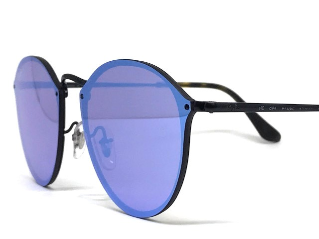 a55540764d076 ... Oculos de sol Blaze Round Ray Ban RB 3574N 153 7V 59 - Majestic Oculos  ...