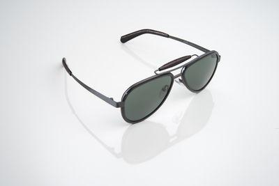 Óculos de Sol Pilot Carbon Black Gagá Milano