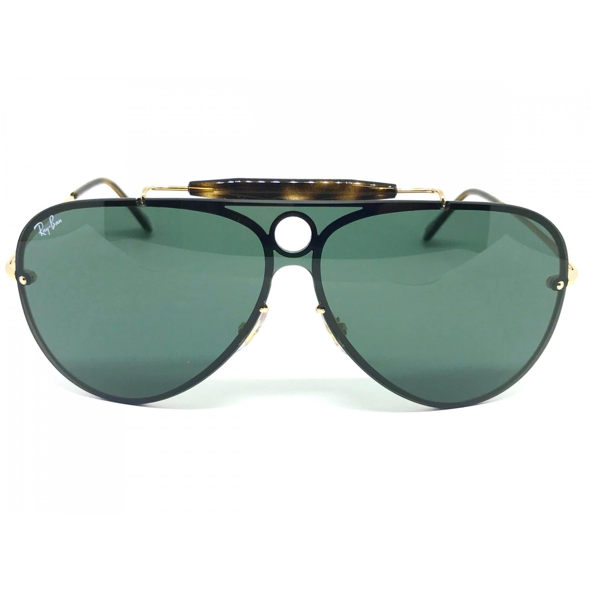 bcd3990e7ffb2 Oculos de sol Ray Ban Aviador Blaze Shooter RB 3581N 001 71 32