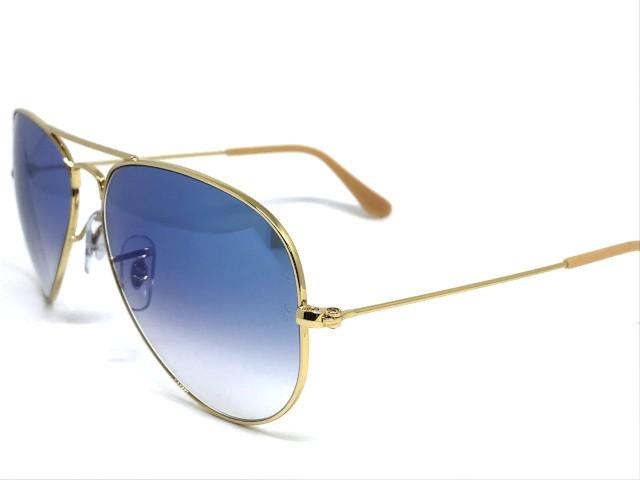6a183dc1d5f16 ... Oculos de sol Ray Ban Aviador pequeno RB 3025 001 3F 55 - Majestic