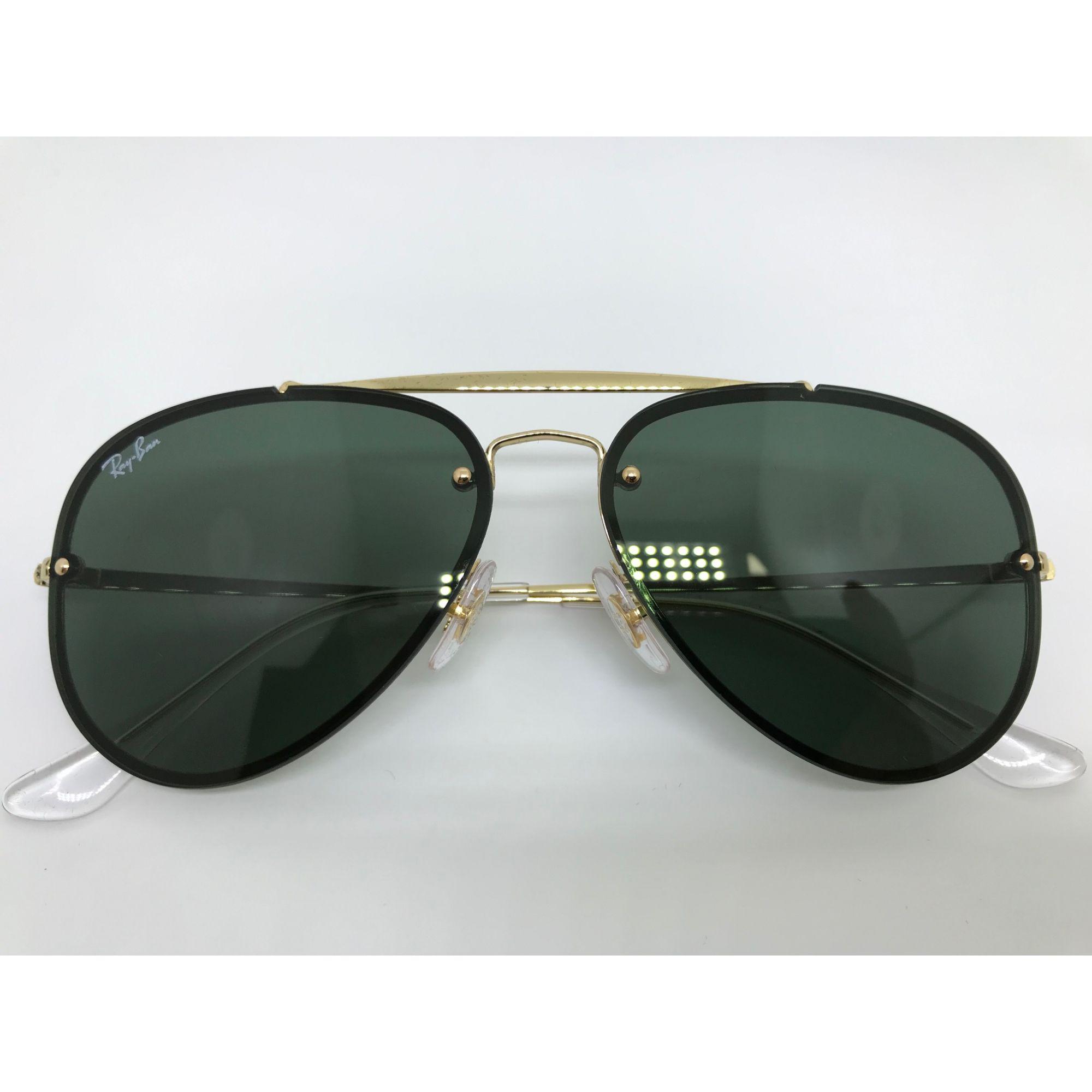 ... Oculos de sol Ray Ban Blaze Aviator RB 3584N 905071 58 - Majestic Oculos 87c1813dd3