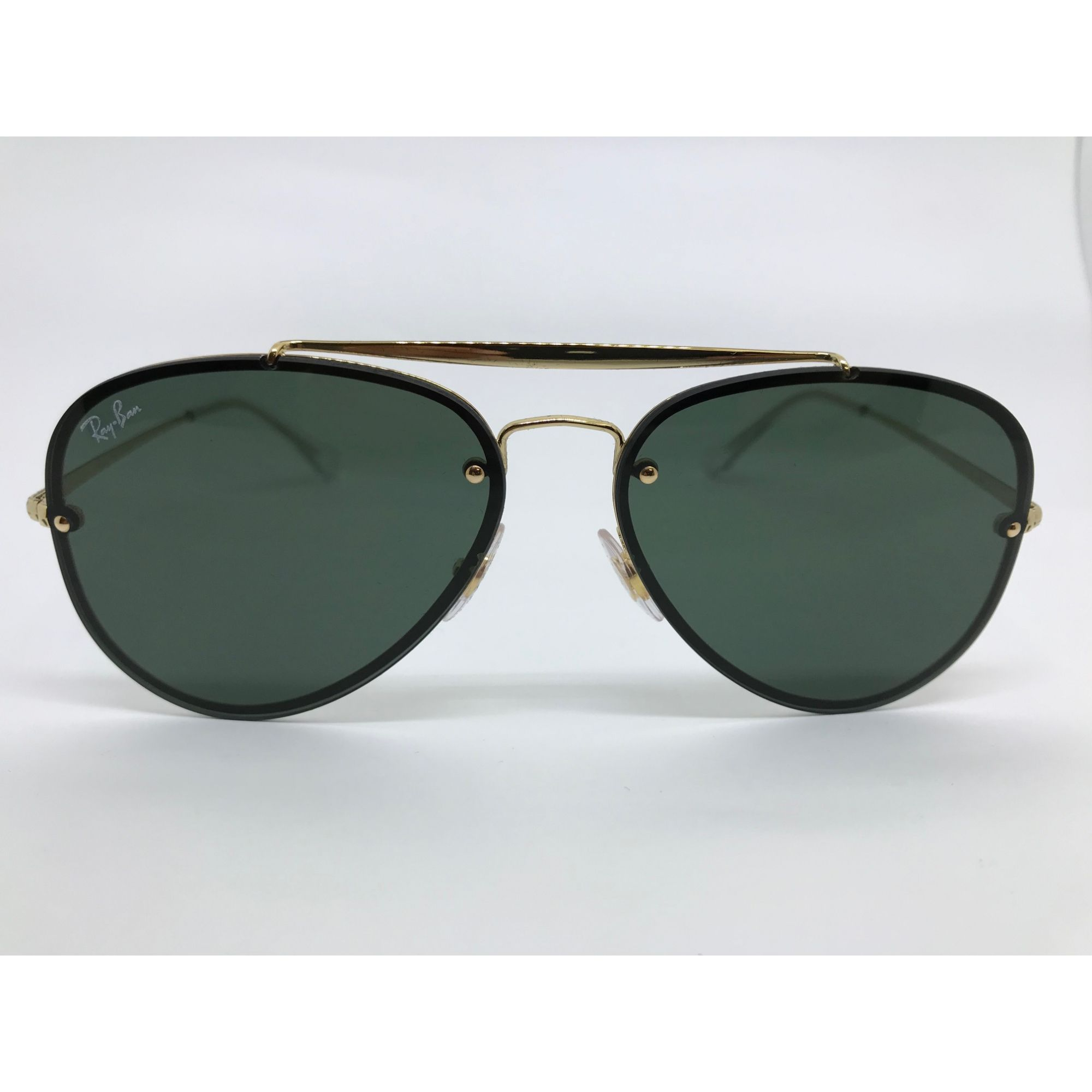 f3b8e5750a850 Oculos de sol Ray Ban Blaze Aviator RB 3584N 905071 58