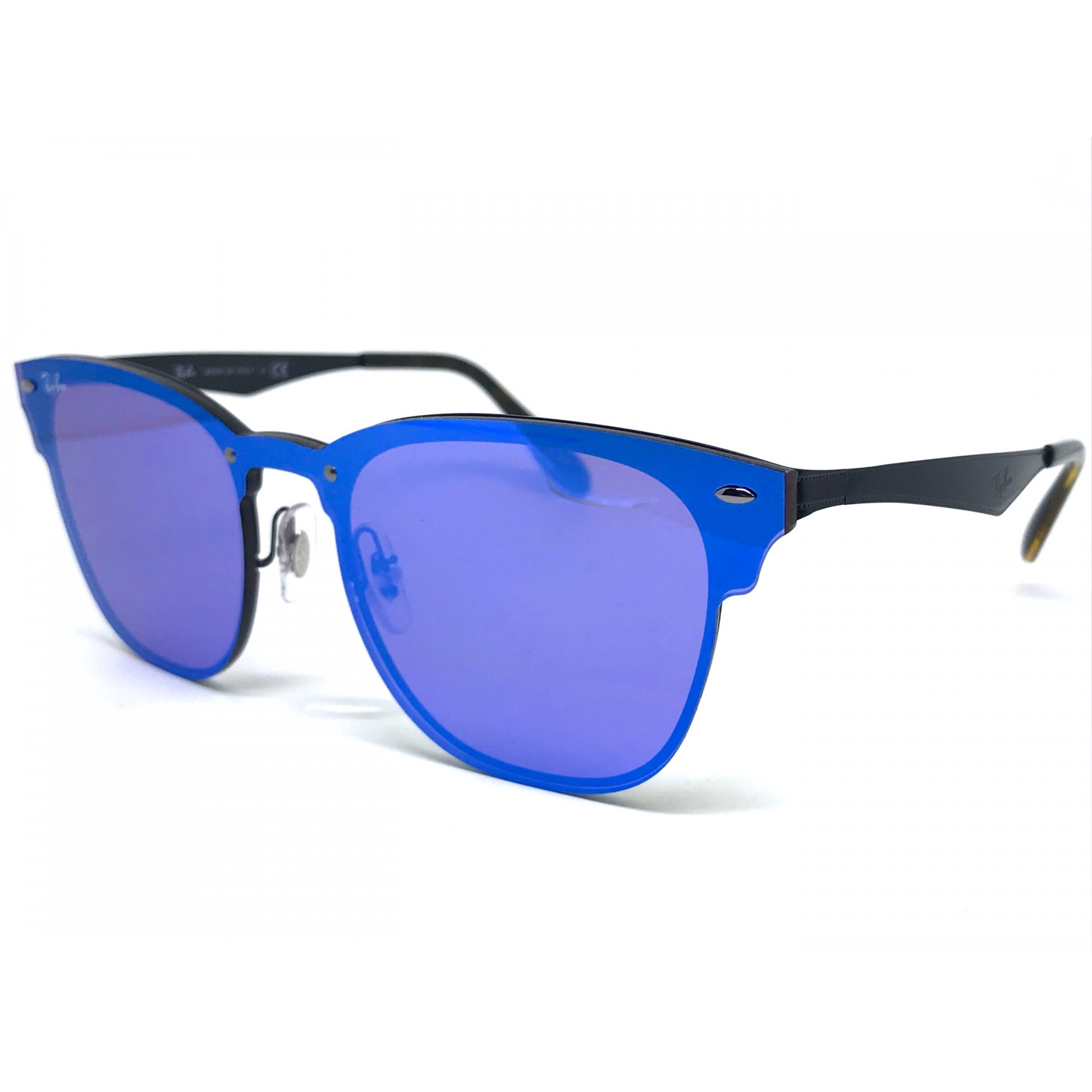 5e19fdc8f8dbd Oculos de sol RAY BAN Blaze Clubmaster RB3576N 153 7V 41