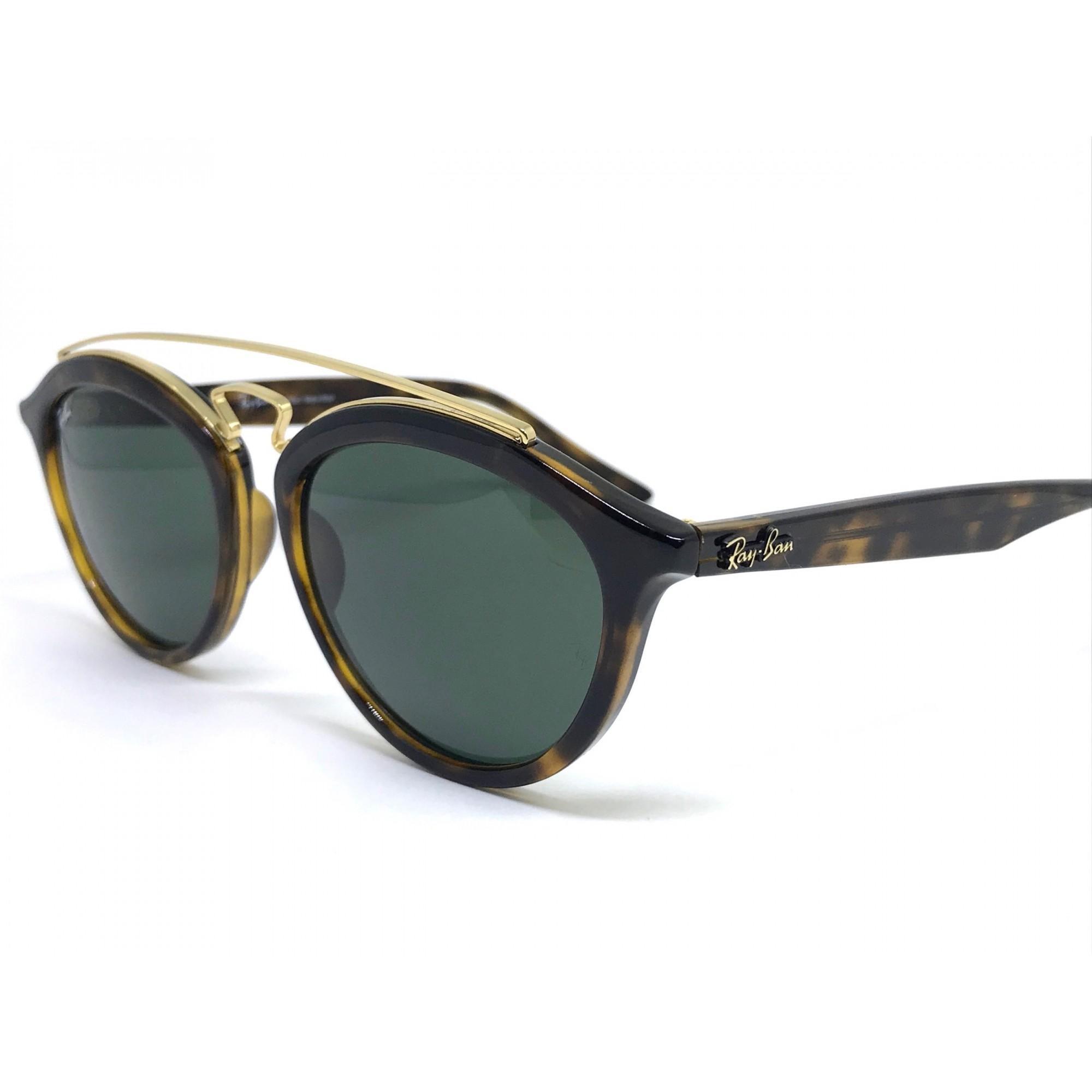 f80909f1b058a ... Oculos de sol Ray Ban Gatsby RB4257 710 71 53 - Majestic Oculos