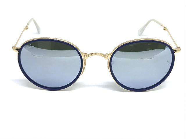 068984e8107fc Óculos de Sol Ray Ban RB 3517 001 30 51 Round Dobrável
