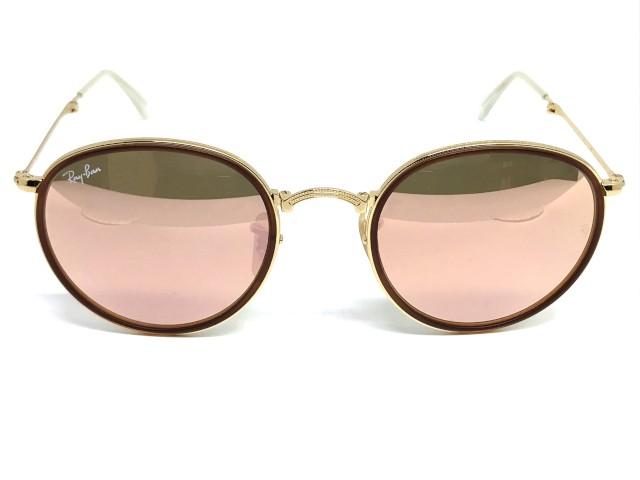 7ea163dc166b1 Óculos de Sol Ray Ban RB 3517 001 72 51 Round Dobrável