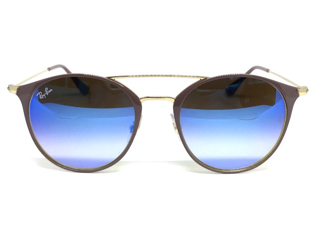 Oculos de sol Ray Ban Round RB 3546 9011 8B 52 - Majestic Oculos ... 6be1ed4bd3