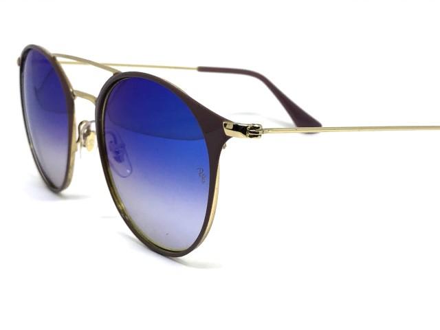 ... Oculos de sol Ray Ban Round RB 3546 9011 8B 52 - Majestic Oculos 253c1fac47