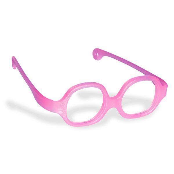 Oculos de criança Comoframe infantil de 3-6 anos flexível NF