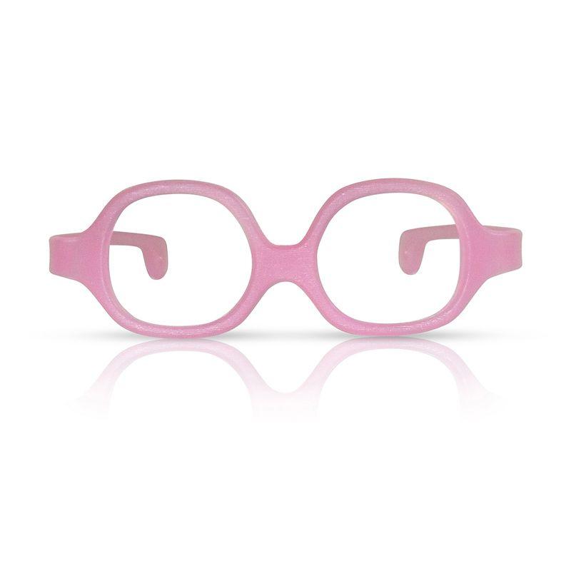 Oculos de criança, bebê 0 a 3 anos, 3 cores, inquebrável