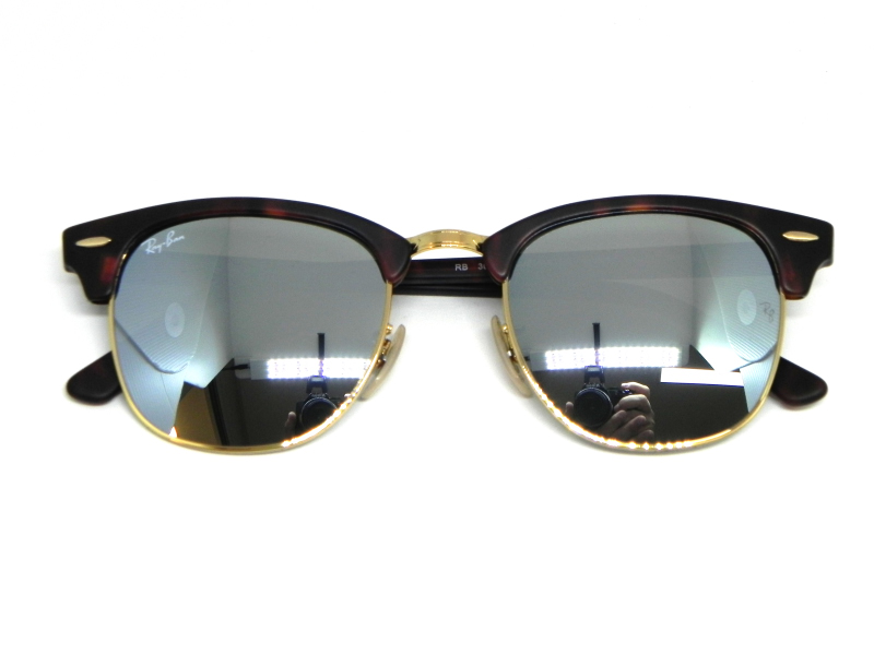 050b265aaa932 ... Oculos de sol Ray Ban Clubmaster RB 3016 1145 30 51