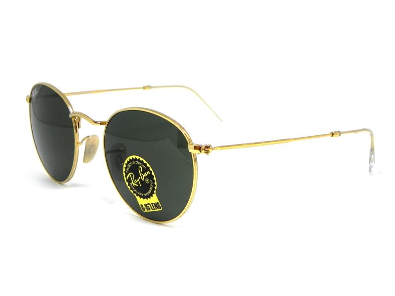 ... Oculos de sol Ray Ban Round RB 3447L 001 50 - Majestic Oculos ... 0f78320f88