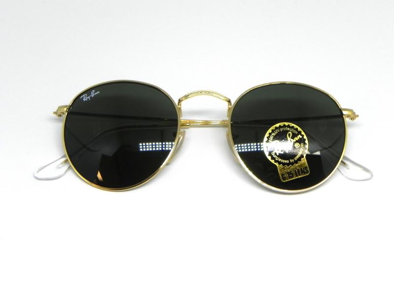 ... Oculos de sol Ray Ban Round RB 3447L 001 50 - Majestic Oculos 31b5d0af9f