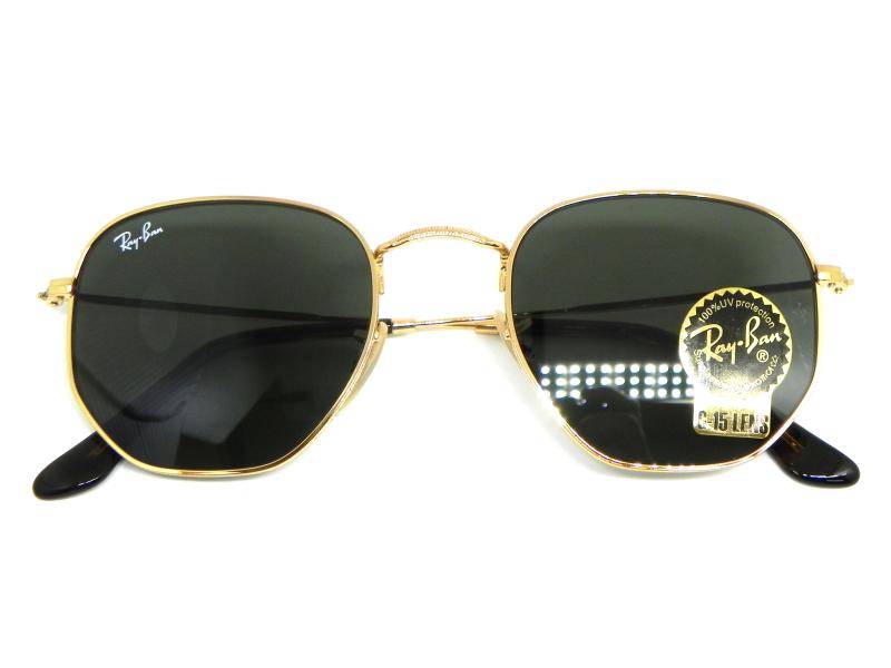 54b38f650d5c5 ... Oculos de sol Ray Ban Hexagonal RB 3548N 001 51