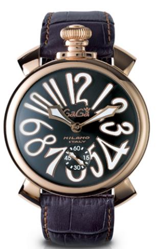 b4f1d754eaf Relógio Gaga Milano MANUALE 48MM GOLD PLATED