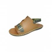 Sandália Comfort com tira traseira