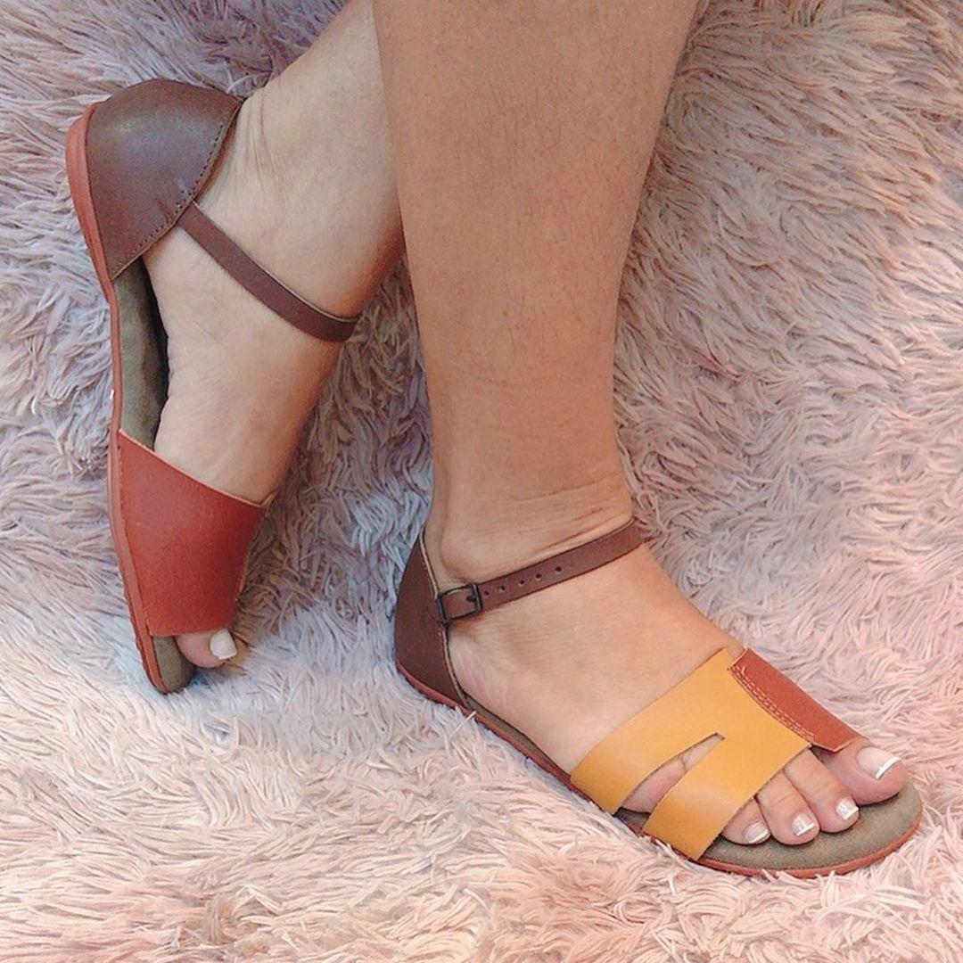 Sandália Comfort tira fina